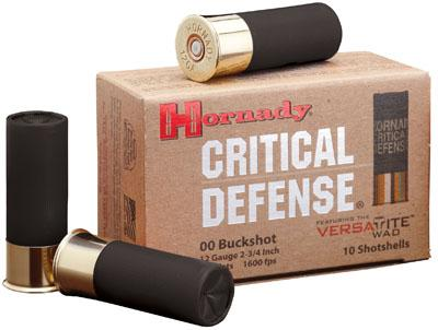 Hornady Buck Shot Shotgun Ammunition 12