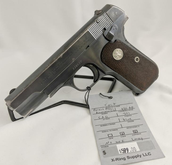 Colt 1908 Pocket Pistol .380acp (a-2694)