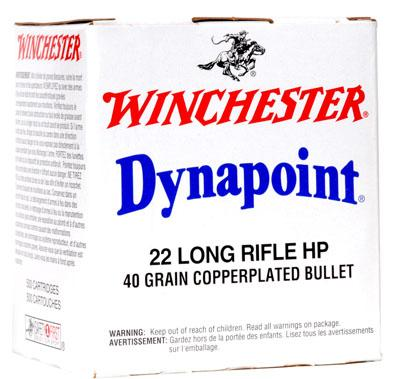 Winchester Ammo Dynapoint 22 Long Rifle