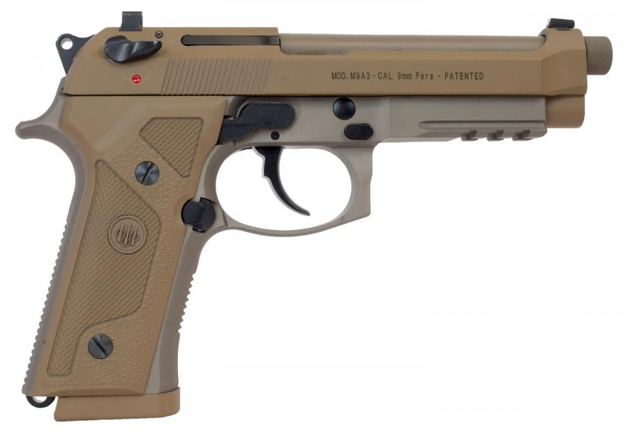 Beretta 92 M9a3 Flat Dark Earth