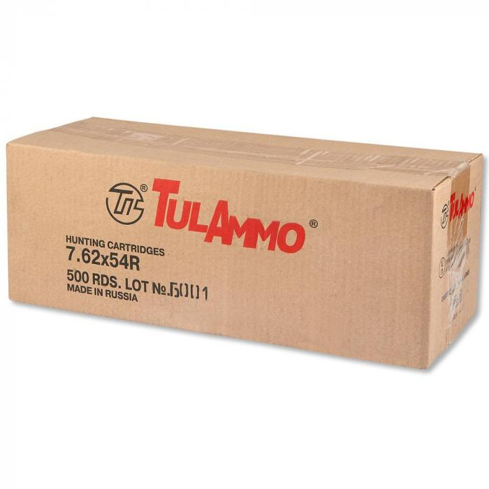 Tulammo 7.62x54r 148gr FMJ Steel Case