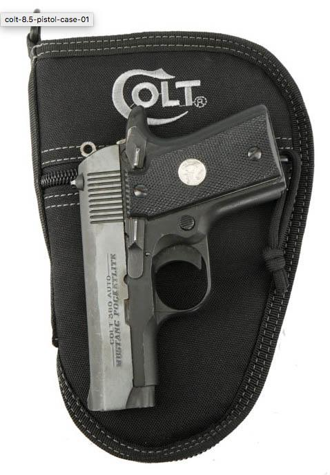"Drago Colt 8.5"" Pistol Case Black"