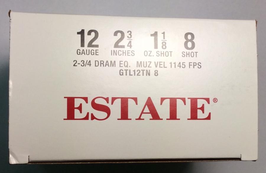 "Estate 12ga 2.75"" 1 1/8 oz"