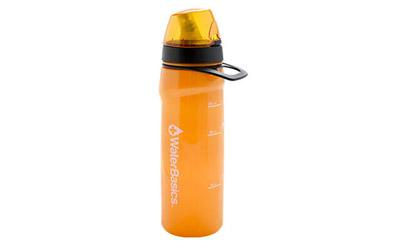 Aquam Waterbasics Filter Bottle Red