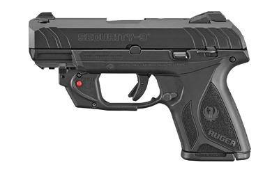"""Ruger Sec-9 9mm 3.4"""" Blk 10rd"""