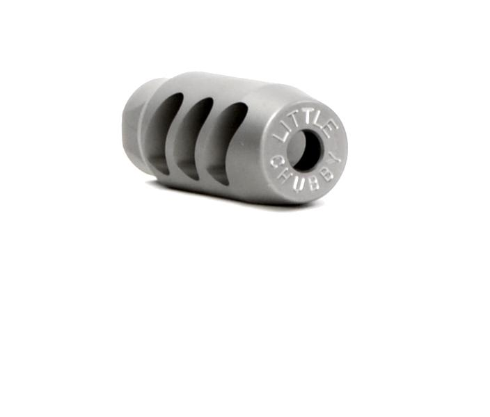 Little Chubby Muzzle Brake 5/8x24 Stainless