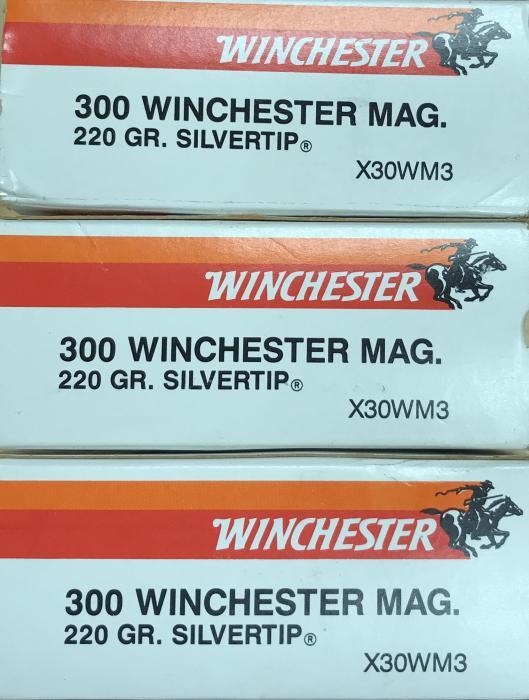Winchester Super-x 300 Win Mag 220gr