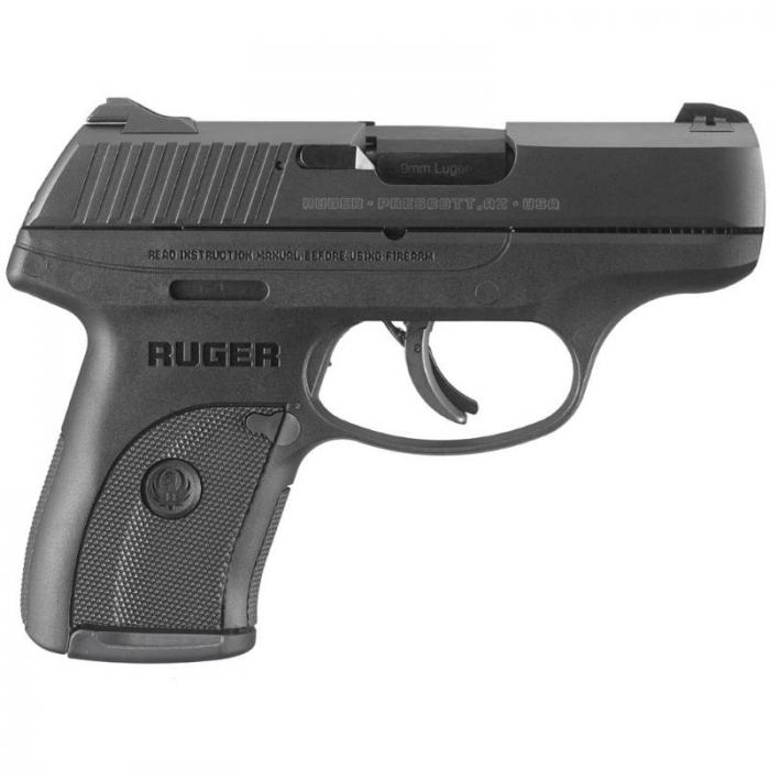 "Ruger Lc9s 9mm 3.12"" 7rd Bl"