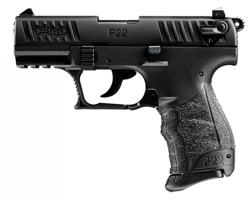 """Walther P22 Da/sa 22lr 3.42"""" TB"""