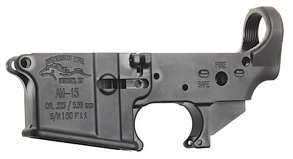 Anderson Ar-15 Stripped Lower Receiver AR