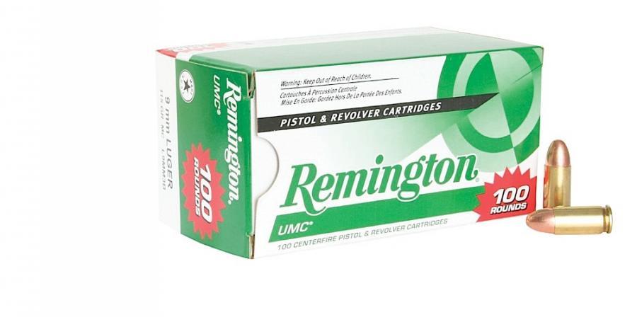 Remington Ammunition UMC 9mm Metal Case