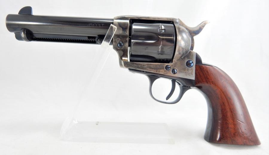 "A.uberti/cimarron Model P .45 Colt 4.75"""