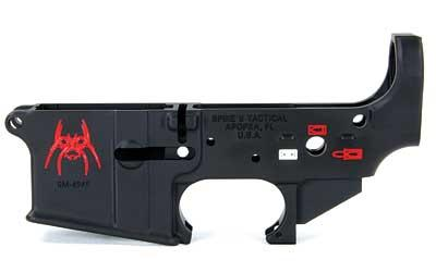 Spikes Stripped Lower (spider) Color Filled