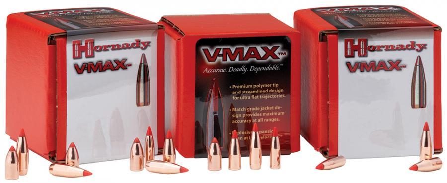 Hornady V-max .224 40 gr 250