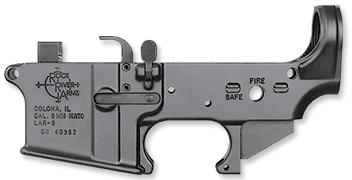 Lar-9 9mm Forged Lower Receiver Assembly