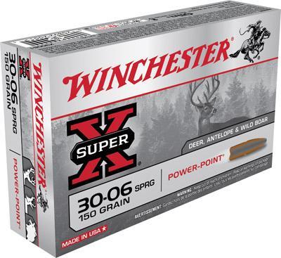 Winchester Ammo Super X 30-06 Springfield