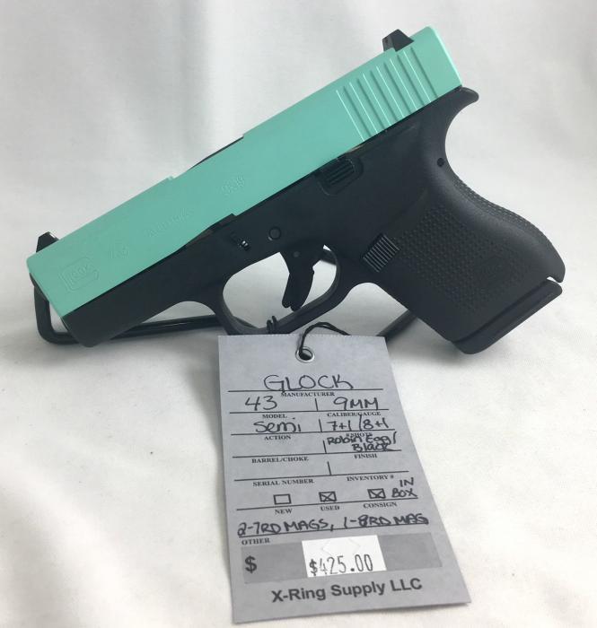 Glock 43 9MM (a-4811)
