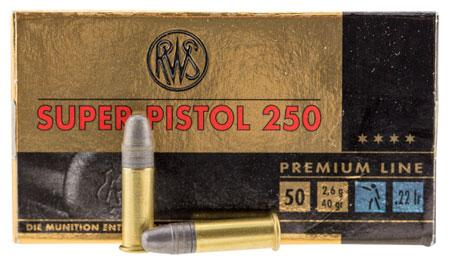 RWS Super Pistol 250 .22lr 50rd