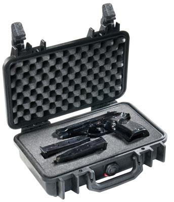 "Pelican Case 10x6x3"" Double Latch Watertight/crushproof"