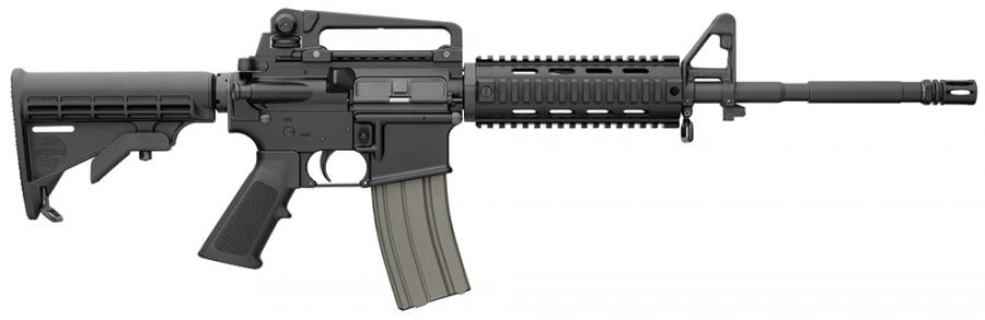 Bushmaster Xm-15 Ar-15 Carbine Quad Rail