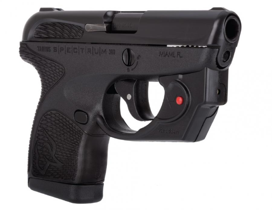Spectrum 380acp Blk/blk Laser