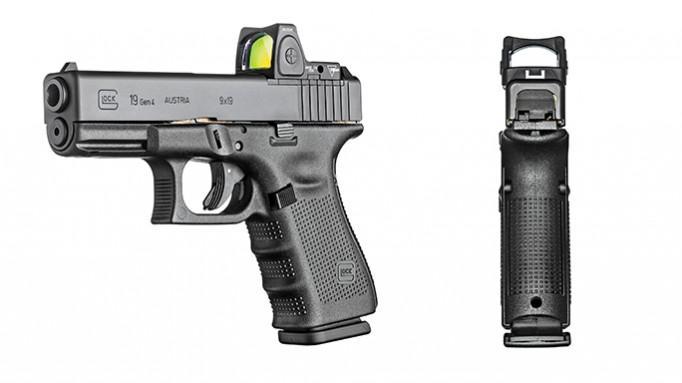 Glock 19 Gen4 9mm 15rd Mos