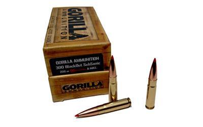 Gorilla 300blk 208gr Amax 20/200