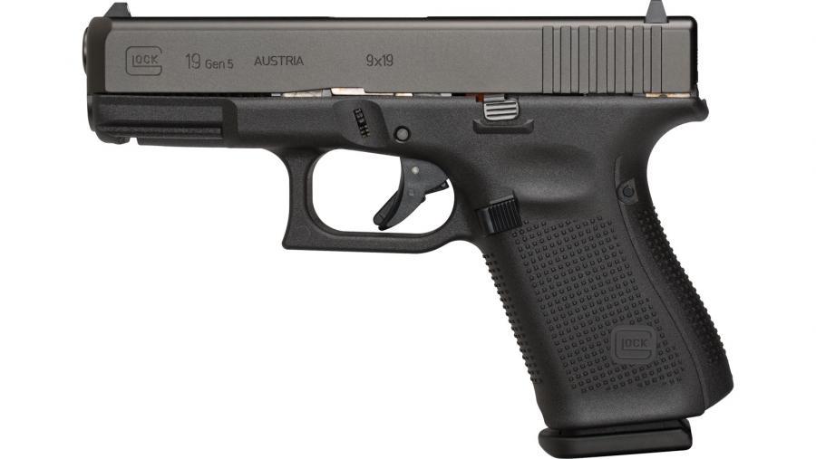 """Glock 19 Gen5 9mm 4"""" 15rd"""