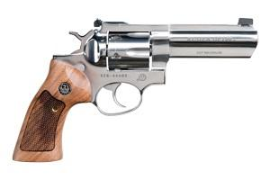 """Ruger Gp100 357mag 4"""" Polish Stainless"""