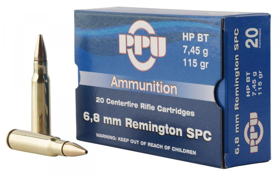 PPU Pp68h Standard Rifle 6.8mm Remington