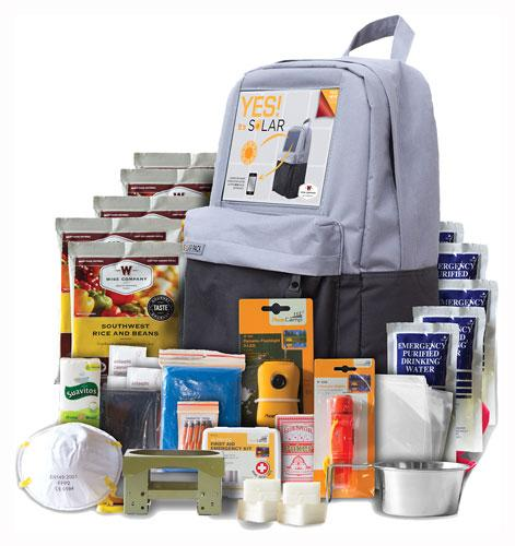 Wise 5 Day Survival Solar Pack