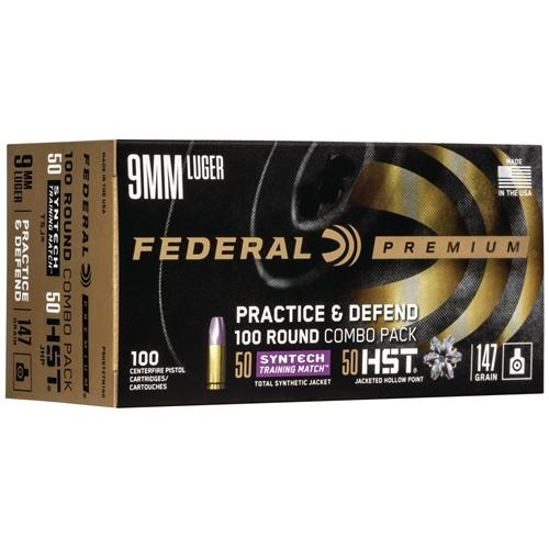 Federal Practice & Defend 9mm Hst/syn