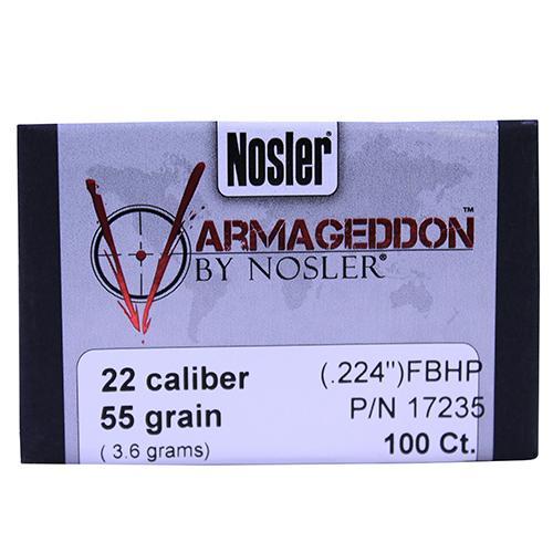 Nosler Varmageddon Bullets .224 Diameter 55