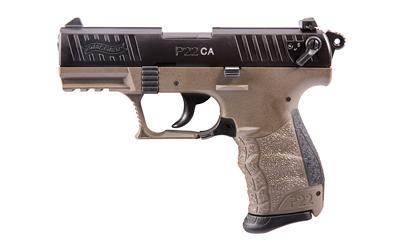 """Wal P22 22lr 3.4"""" Fde 1-10rd"""