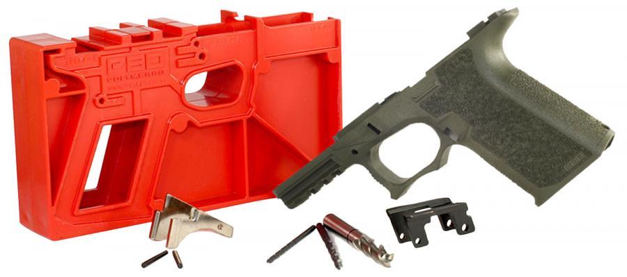 Polymer80 P80pf940cv1o G19/23 Gen3 Compatible Frame