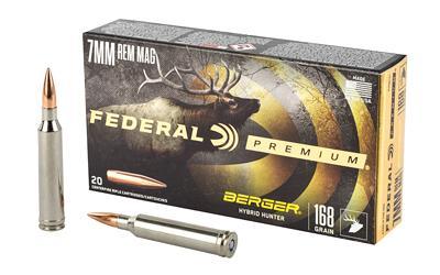 Fed Prm 7mmrem 168gr Hyb Hr