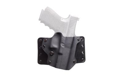 Blk Pnt Lthr Wing S&w Shield