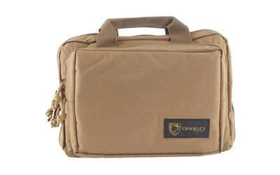 Drago Gear Double Pistol Case Tan