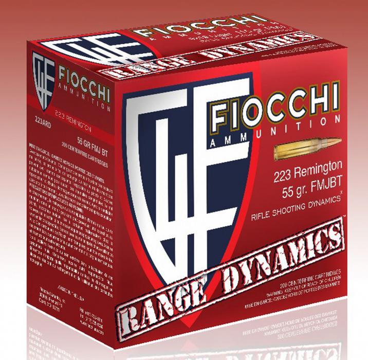 Fiocchi 223ard10 Range Dynamics 223 Remington/5.56