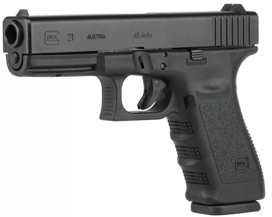 "Glock G21 45 ACP 4.60"" 10+1"