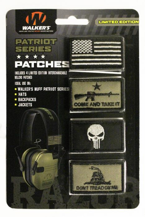 Wlkr Gxppatkit2 Patriot Muff Patch KT