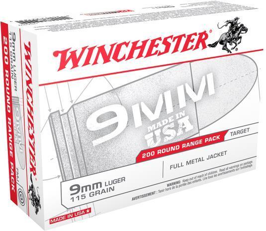 Winchester 200 Round Range Pack
