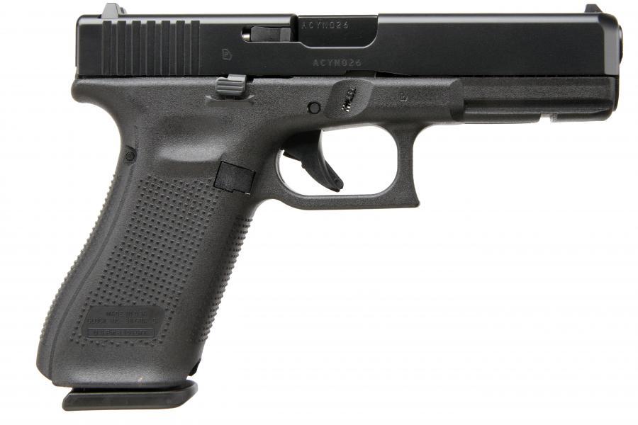 """Glock 17 Gen5 9mm 4.5"""" 10rd"""