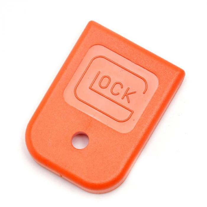 Glock OEM Mag Floor Plate Orange