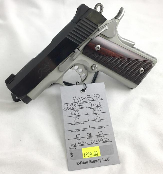 Kimber Ultra Carry II 9MM (a-4535)