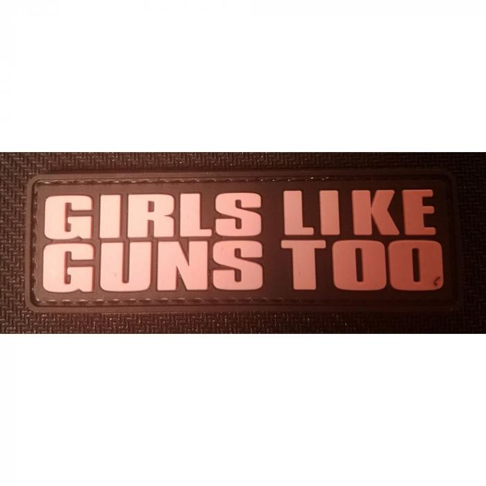 Ddt50164 Girls Like Guns TOO Rubber