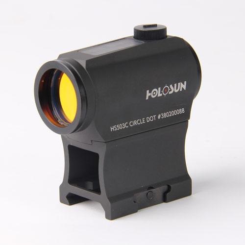 Holosun 503c Cirecle Dot W/solar