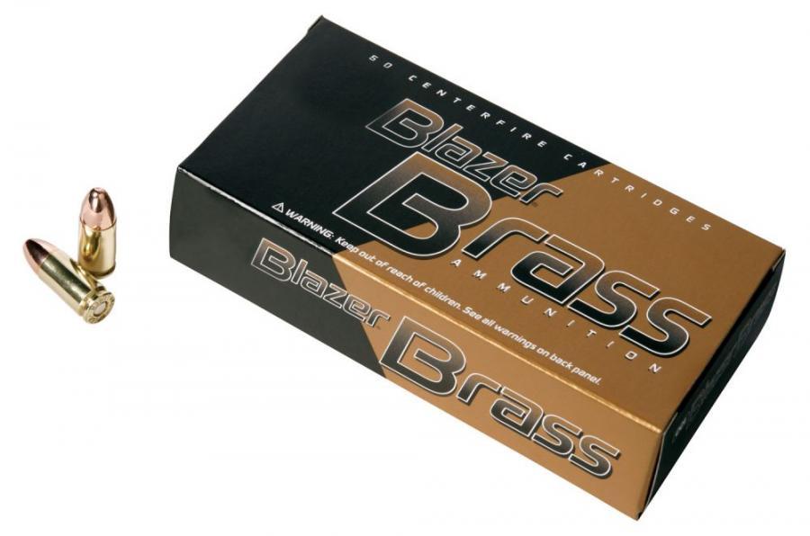 CCI 52107bb Blazer Brass 38S 125