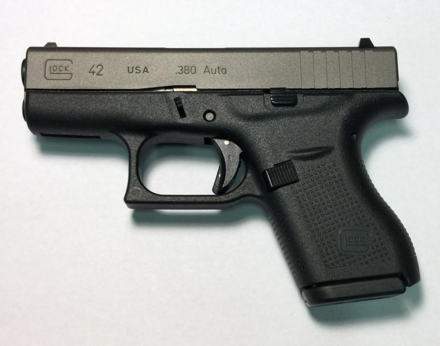 Glock Inc 42 380auto 6rd x2