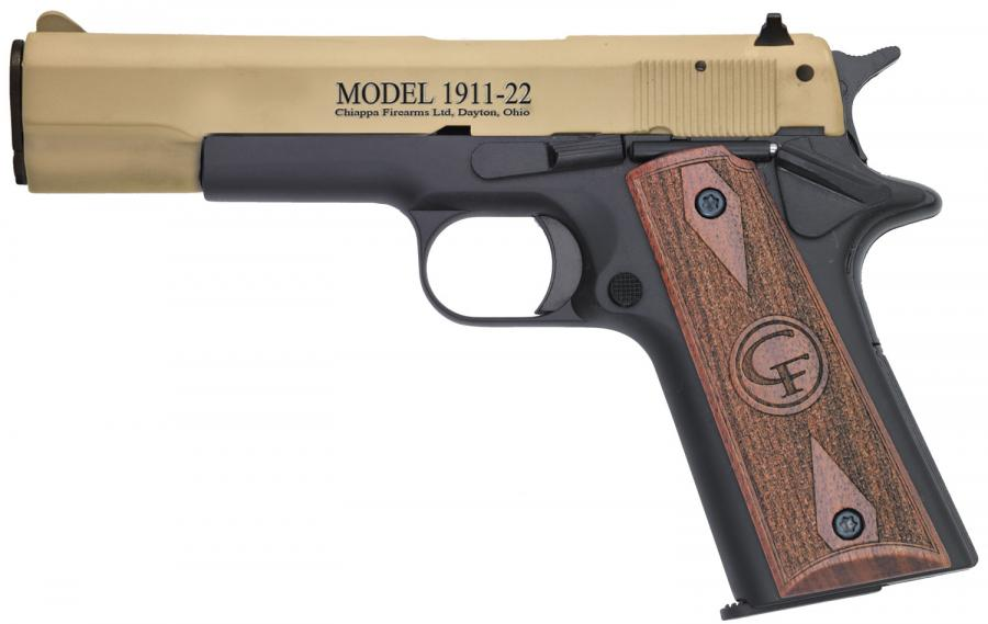 Chiappa Firearms 401120 1911 Single 22